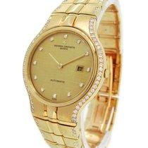 Vacheron Constantin 18K Gold Phidias, Orig. Diamond Dial and...