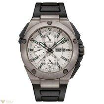 IWC Ingenieur Double Chronograph Titanium Silver Dial Men`s Watch