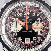 Breitling Cosmonaute Chrono-Matic 24H Dial Stahlband Spiegelei...