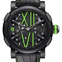 罗曼杰•罗姆 (Romain Jerome) Steampunk Auto Green