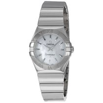 Omega Constellation Mother of Pearl Dial Steel Ladies Watch...