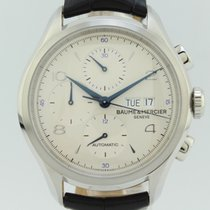 Baume & Mercier Clifton Chronograph Day Date  Steel 65731
