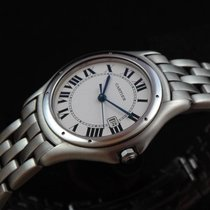 Cartier Steel Panthere Cougar Men's New
