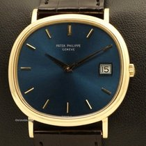 Patek Philippe Cushion-Shaped 18K Yellow Gold, with Date, REF....