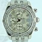 Breitling Evolution Chronograph Original Diamond Bezel