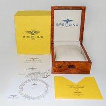 Breitling Holz Box mit Umkarton und Zubehür