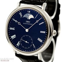 IWC Portofino Moon-Phase Re-Edition Ref-544801 Stainless Steel...