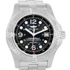 Breitling Aeromarine Superocean Steelfish Watch A17390 Box Papers