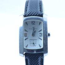 Baume & Mercier Damen Uhr 22x33mm Hampton Quartz Stahl/sta...