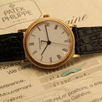 Patek Philippe calatrava automatic yellow gold box papers -...