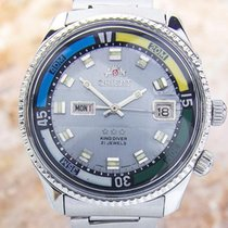 Orient King Diver Mens Rare Jumbo Size Automatic Authentic...