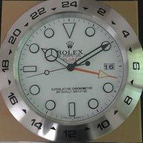 Rolex wall /dealer clock exproler.II style 40cm swiss quartz