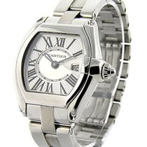Cartier W62016V3 Roadster Chronograph - Stainless Steel on...