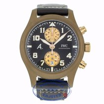 "IWC Pilot Chronograph 46mm Brown Ceramic ""Last Flight"""