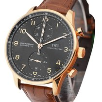 IWC 371415 Portuguese - Automatic Chronograph in Rose Gold -...