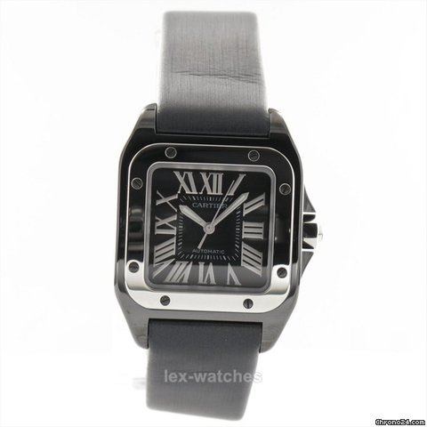 Cartier Santos 100 Watch, Medium Model W2020008