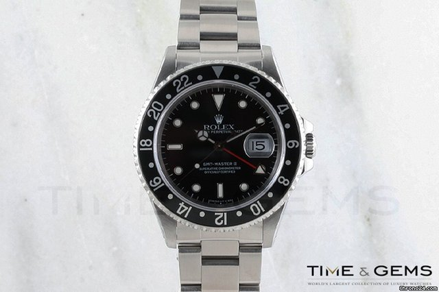 Rolex Stainless Steel GMT Master II 1997