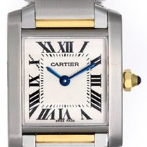 Cartier Ladies Cartier Tank Francaise 2-Tone Watch W51007Q4...