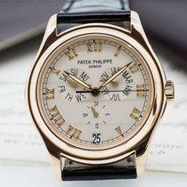 Patek Philippe 5035R-001 Annual Calendar 18K Rose Gold Silver...