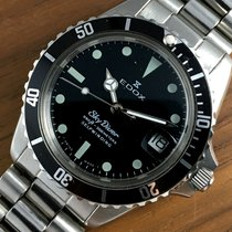 Edox Top Condition   Vintage Diver 300m Skydiver Automatic Watch
