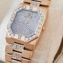 Rolex Cellini Yellow Gold Lady Watch Diamonds 18 krt (35 x 27 mm)