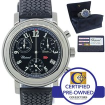 Chopard Mille Miglia Chronograph Rubber Steel 33mm Watch 8900