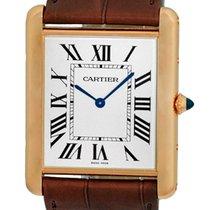 """Cartier """"Tank Louis Cartier XL"""" Mechanical Strapwatch."""
