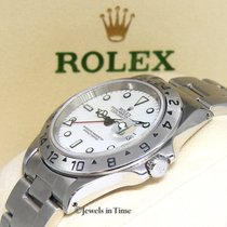 Rolex Explorer II Stainless Steel White Dial Automatic Mens...