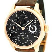"""IWC """"Portuguese Perpetual Calendar"""" Strapwatch."""