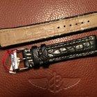 Breitling bracelet crocodile