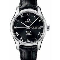 Omega DeVille Co Axial Chronometer Annual Calendar Steel