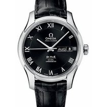Omega DeVille Co Axial Chronometer Annual Calendar Steel