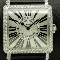 Franck Muller Master Square, 18 kt white gold with diamonds