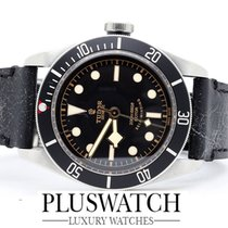 Tudor BLACK BAY Black Dial leather band and Nato  41MM