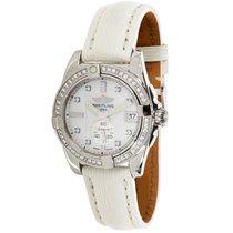 Breitling Galactic Steel & Diamond Automatic Chronometer Wat