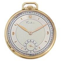 Cartier Yellow Gold Pocket Watch