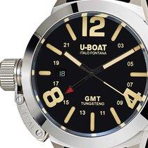 U-Boat 8050 Classico GMT Tungsteno Automatik schwarz 45mm