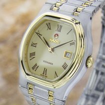 Rado Mid Size Ladies Vintage Rare Voyager Automatic Swiss Date...