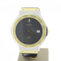Hublot MDMSteel/Gold 36mm 2002 BlackDial