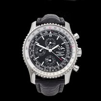 Breitling Navitimer Perpetual Calendar Chronograph Stainless...