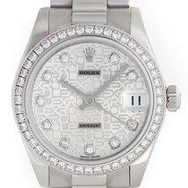 Rolex Lady 31 President Midsize Men's/Ladies Platinum...