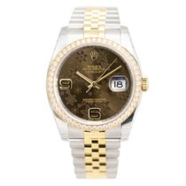 勞力士 (Rolex) Datejust Pink Gold Diamond Brown Automatic...