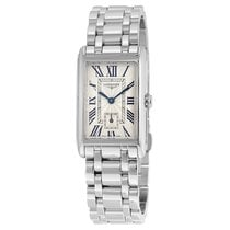 Longines DolceVita Ivory Dial Stainless Steel Ladies Watch...