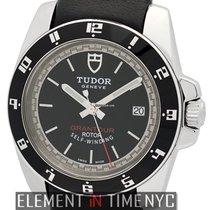 Tudor Grantour Stainless Steel Black Dial 41mm Ref. 20050N