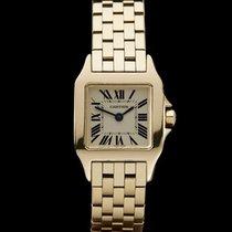 Cartier Santos Demoiselle 18k Yellow Gold Ladies W25063X9