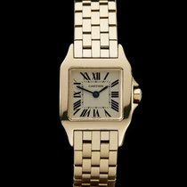 Cartier Santos Demoiselle 18k Yellow Gold Ladies W25063X9