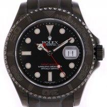 "Rolex Yacht-Master ""Black Edition JRH"" Stahl DLC..."