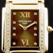 Patek Philippe [NEW] 4910/11R-010 Brown Dial Twenty~4 Rose...