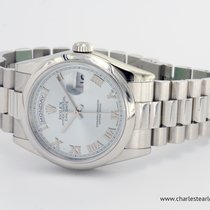 Rolex Platinum President Day-Date Ice Blue Dial