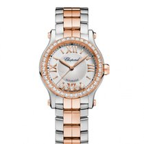 Chopard Happy Sport 18 Carat Rose Gold and  Ladies 278573-6004